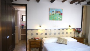 Almond room at Almond Hill House, Andalucia, Spain