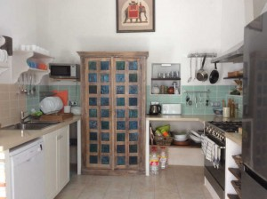 Kitchen at Almond Hill House, Andalucia, Spain