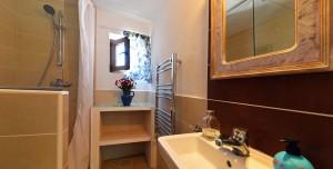 Almond room bathroom Almond Hill House, Andalucia, Spain