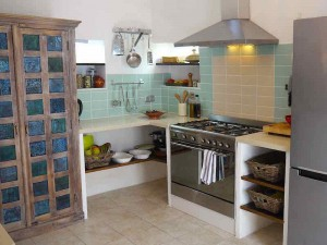 Kitchen Almond Hill House, Andalucia, Spain