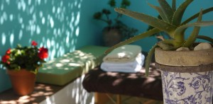 Alberca massage at Almond Hill House, Andalucia, Spain