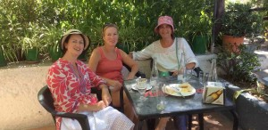 Guests at Almond Hill House, Andalucia, Spain