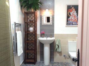 Jasmine room bathroom Almond Hill House, Andalucia, Spain