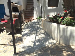 Accessibility ramp Almond Hill House