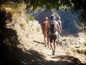 Hikers in La Alpujarra