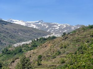 Mountain view in La Alpujarra
