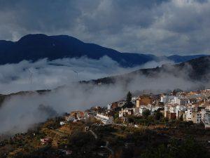 Low cloud above Lanjarón