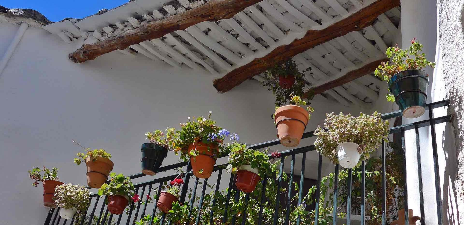 Pampaneira flower pots Spain