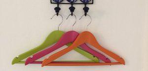 Child's coat hangers